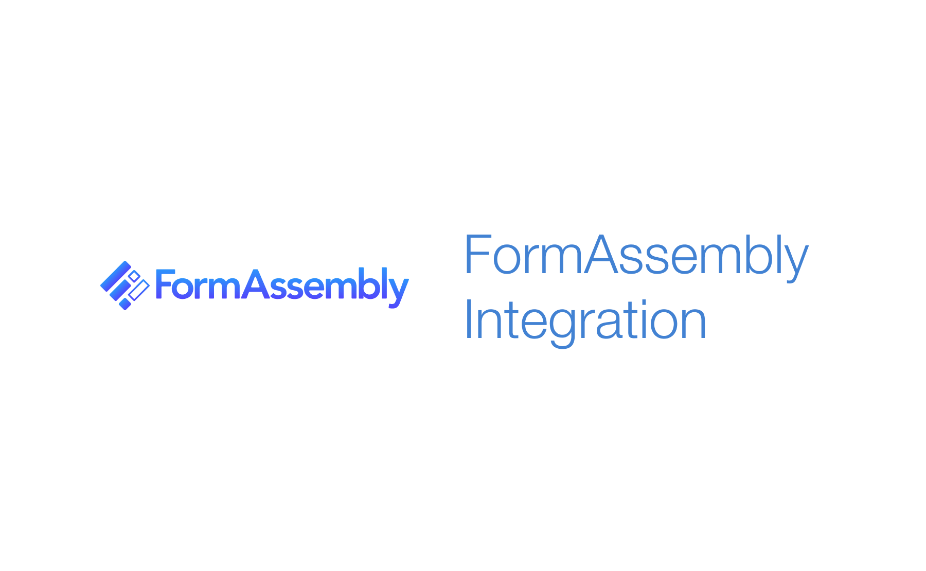 FormAssembly Integration