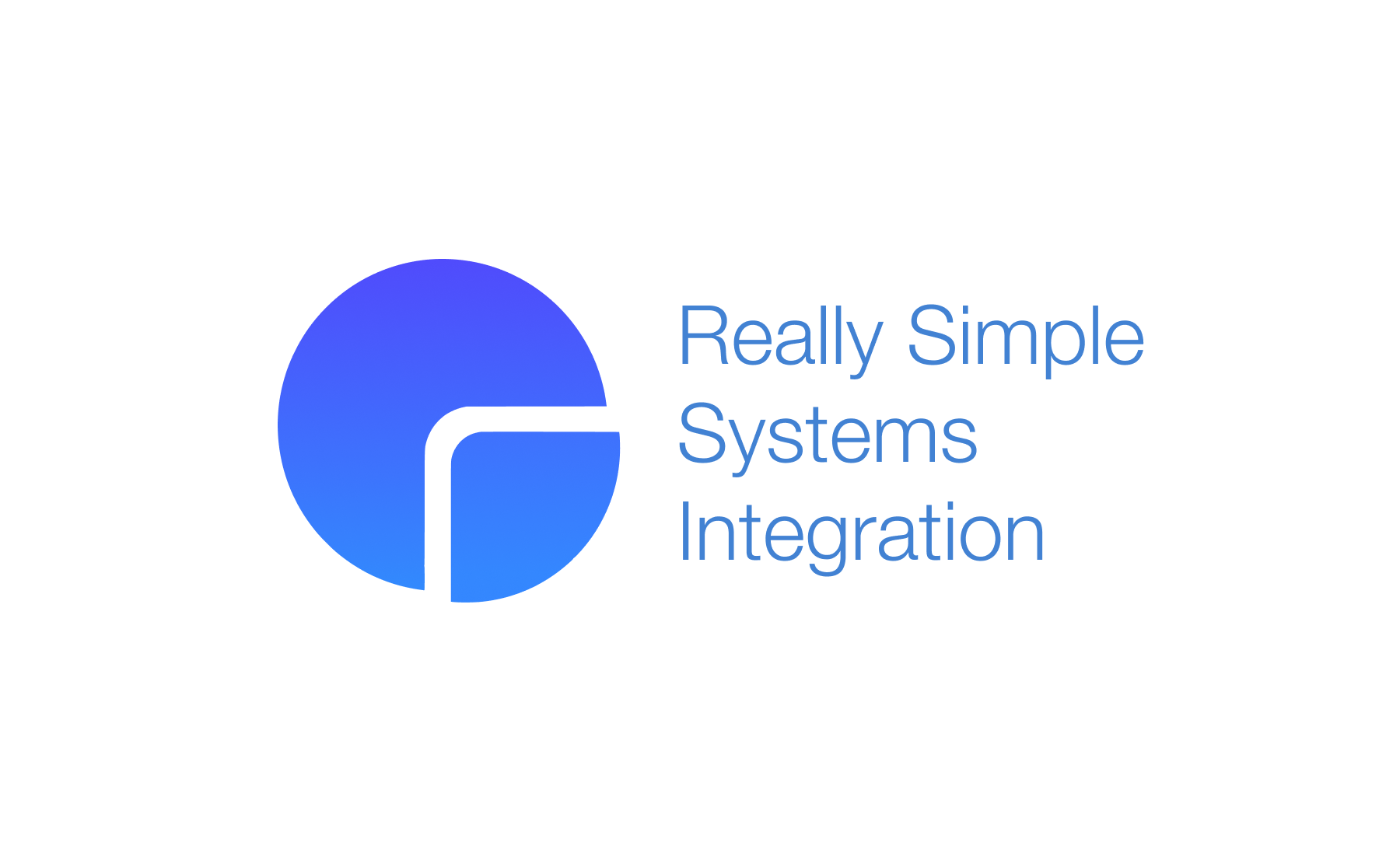 Really Simple Systems Integration