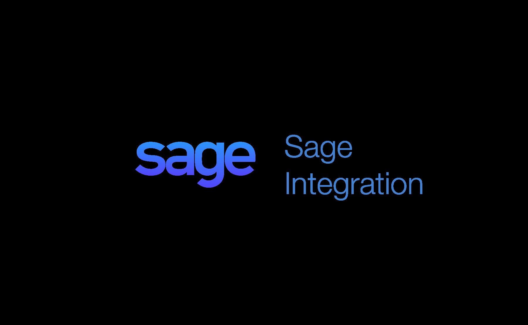 Sage Business Cloud integration