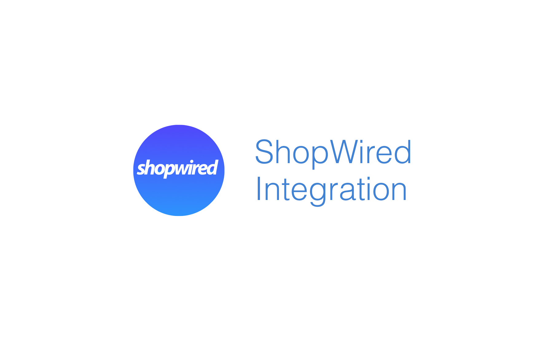 ShopWired Integration