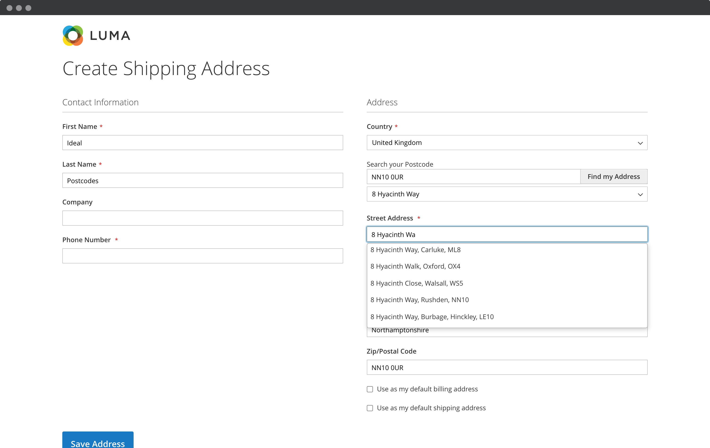 Activate address autocompletion on your address collection forms-screenshot