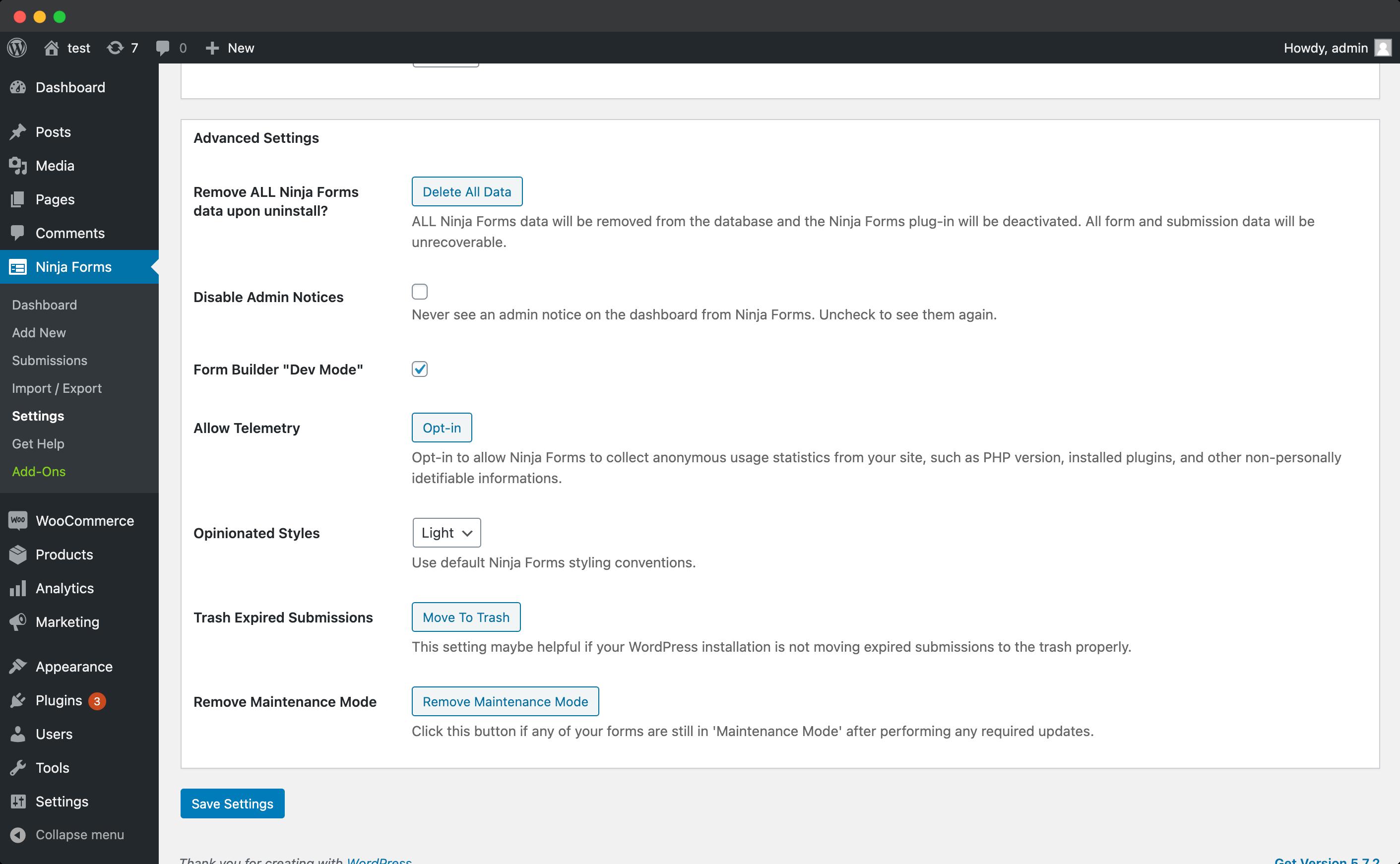 Enable Dev Mode-screenshot